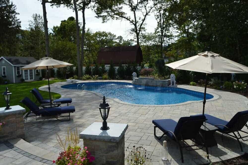 Low Maintenance Backyard Design, Long Island Outdoor Furniture Bohemia